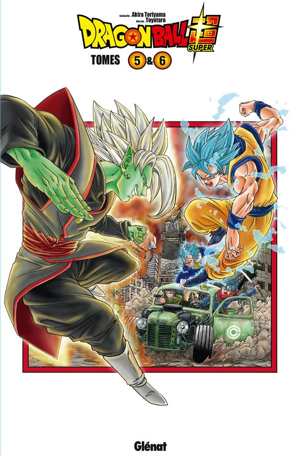 Dragon Ball Super ; Coffret Vol.3 ; T.5 Et T.6