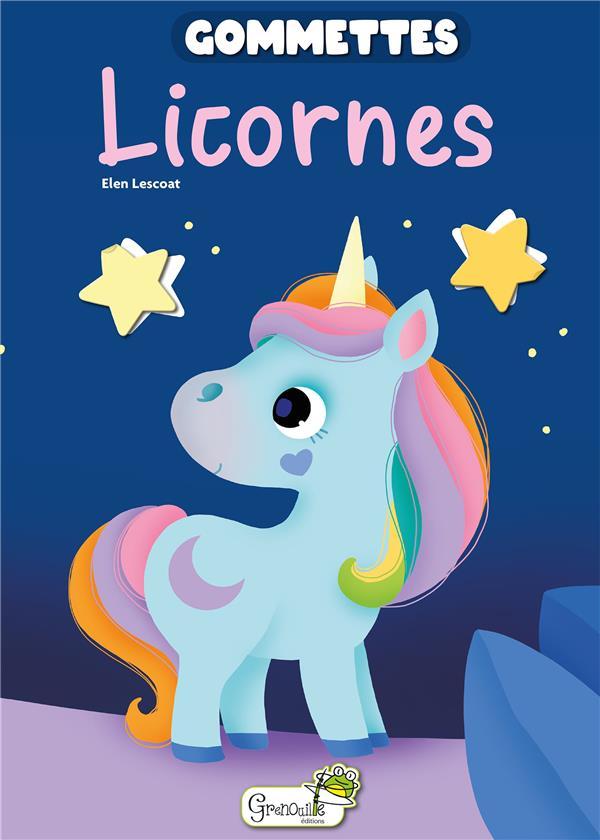 Gommettes licornes