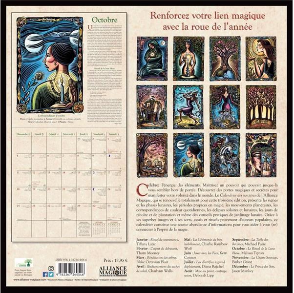 Calendrier des sorcières (édition 2020)