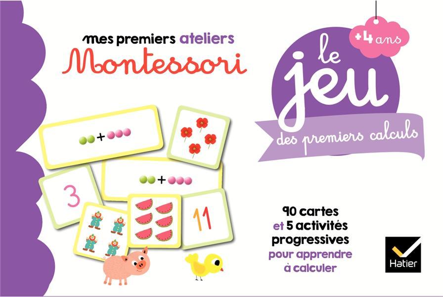Le jeu Montessori des premiers calculs