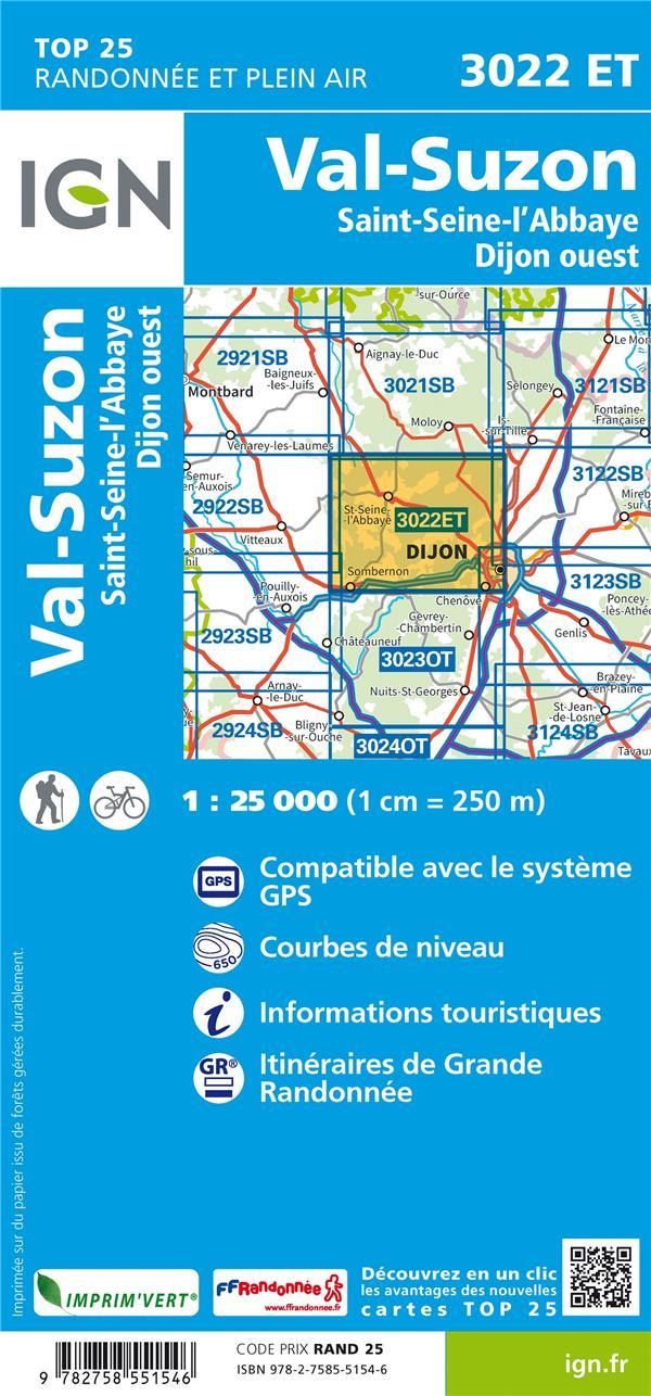 3022ET ; Val-Suzon (4e édition)