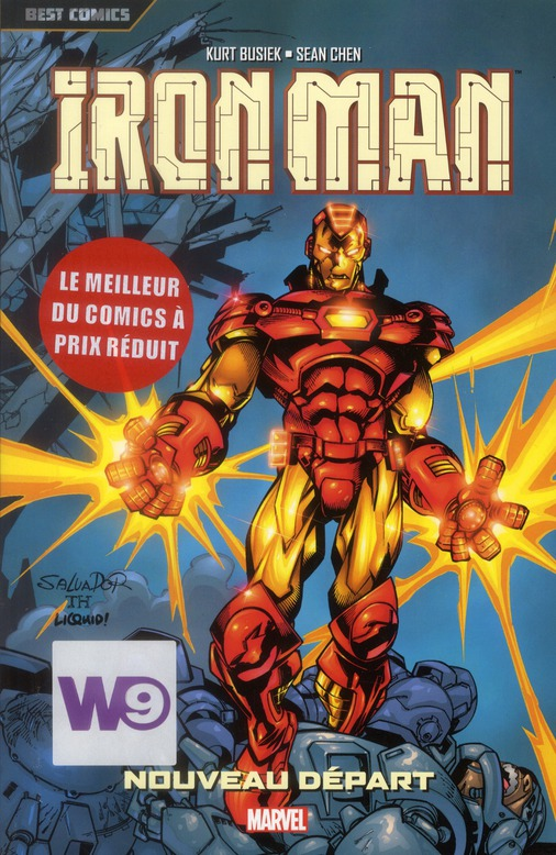 Iron Man T.2 ; nouveau départ