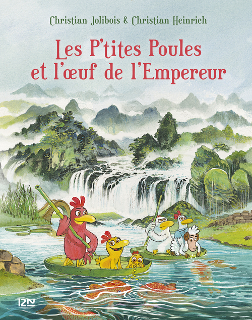 Les P'tites Poules T.17 ; les P'tites Poules et l'oeuf de l'empereur