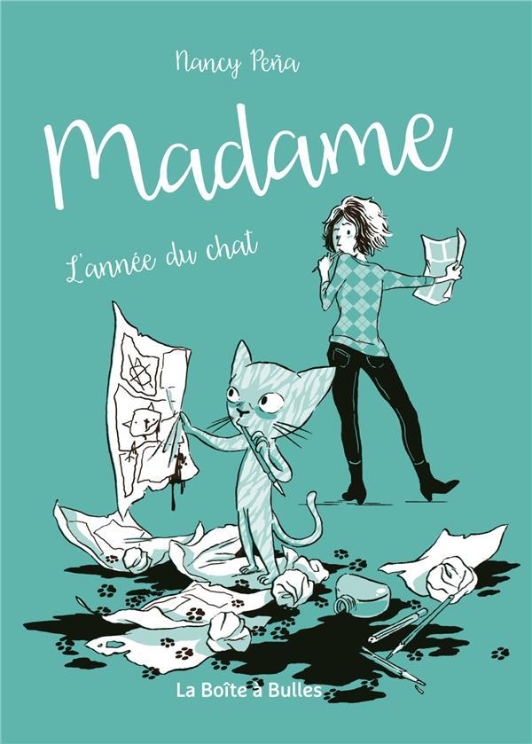 Madame T.1 ; l'année du chat