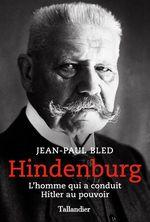 Vente EBooks : Hindenburg  - Jean-Paul BLED