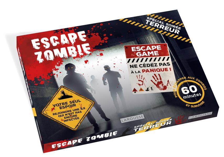 Escape zombie ; escape game