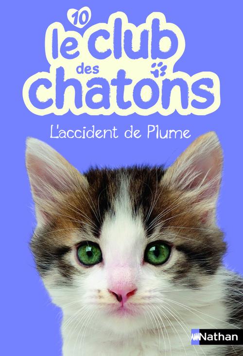 Le club des chatons T.10 ; l'accident de Plume