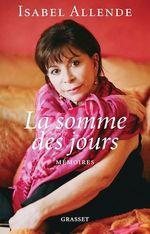 La somme des jours  - Isabel Allende
