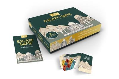 Escape game geo ; monuments du monde