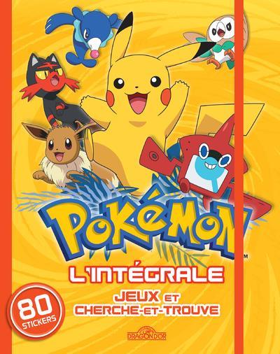 Pokemon Jeux Et Cherche Et Trouve L Integrale