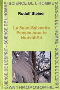 La Saint-Sylvestre ; pensée pour le Nouvel-An