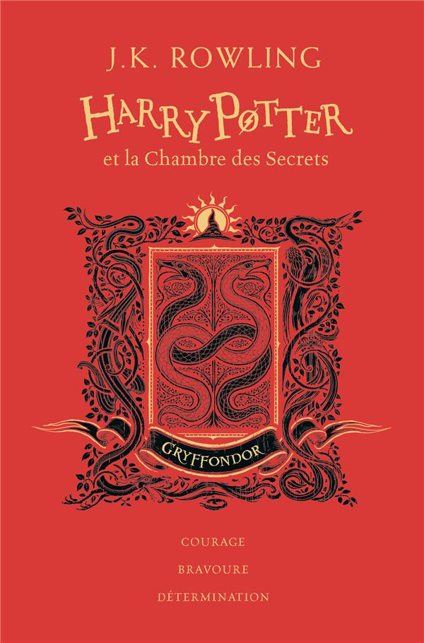 Harry Potter T 2 Harry Potter Et La Chambre Des Secrets J K Rowling Gallimard Jeunesse Grand Format Librairie De Paris Paris