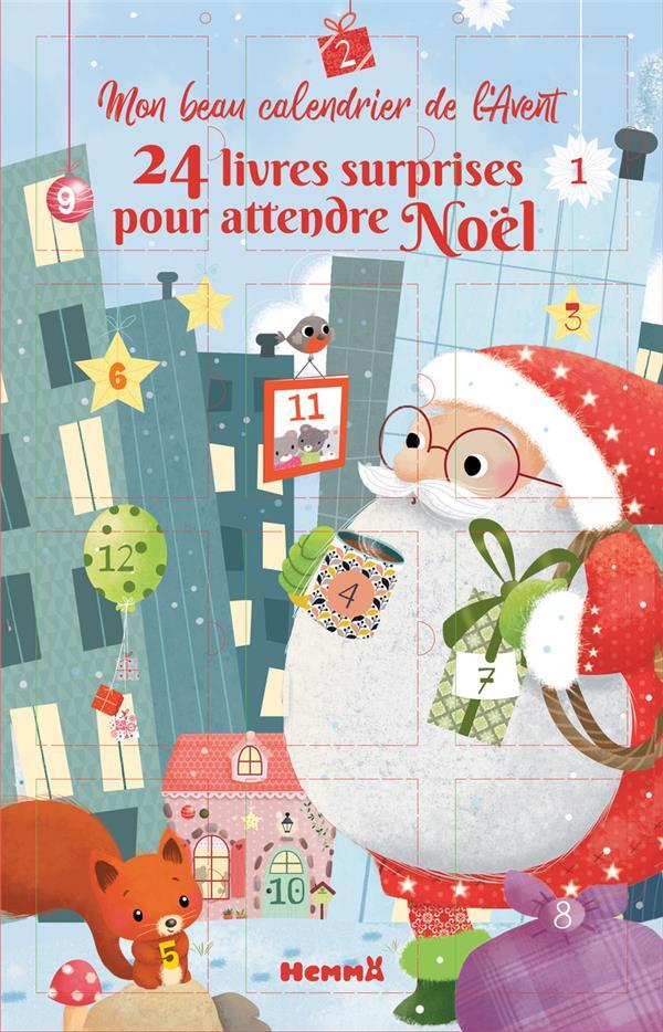 Mon beau calendrier de l'avent ; 24 livres surprises pour attendre Noël