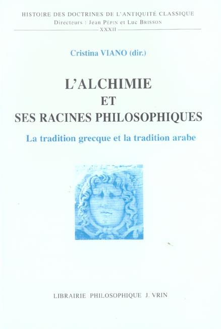 L'alchimie et ses racines philosophiques