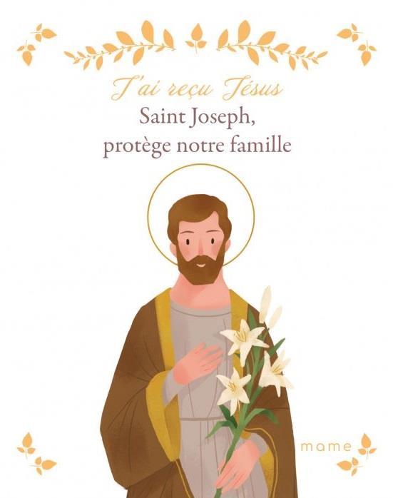 Saint Joseph, protège notre famille