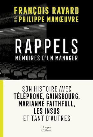 Rappels ; mémoires d'un manager
