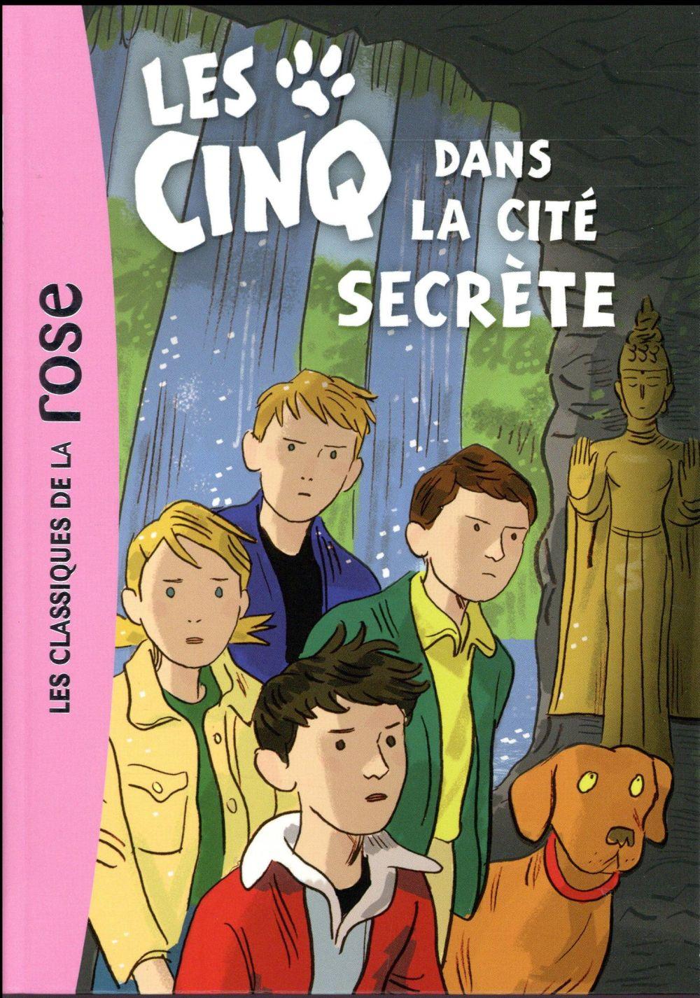 LE CLUB DES CINQ - T45 - LES CINQ 45 - LES CINQ ET LA CITE SECRETE Voilier Claude