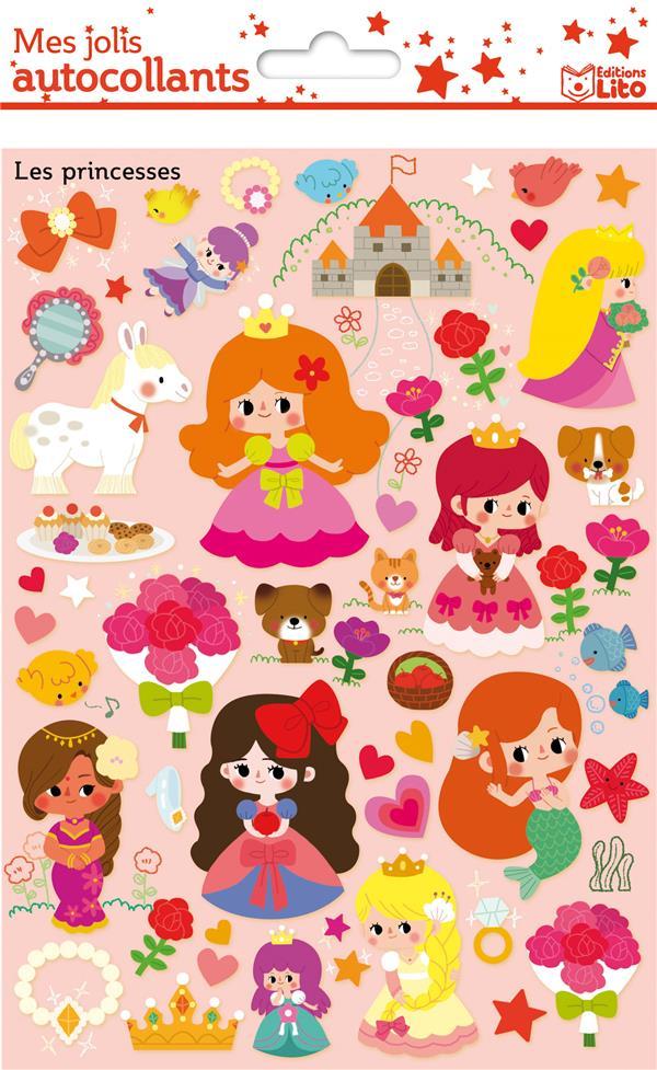 Mes jolis autocollants ; les princesses