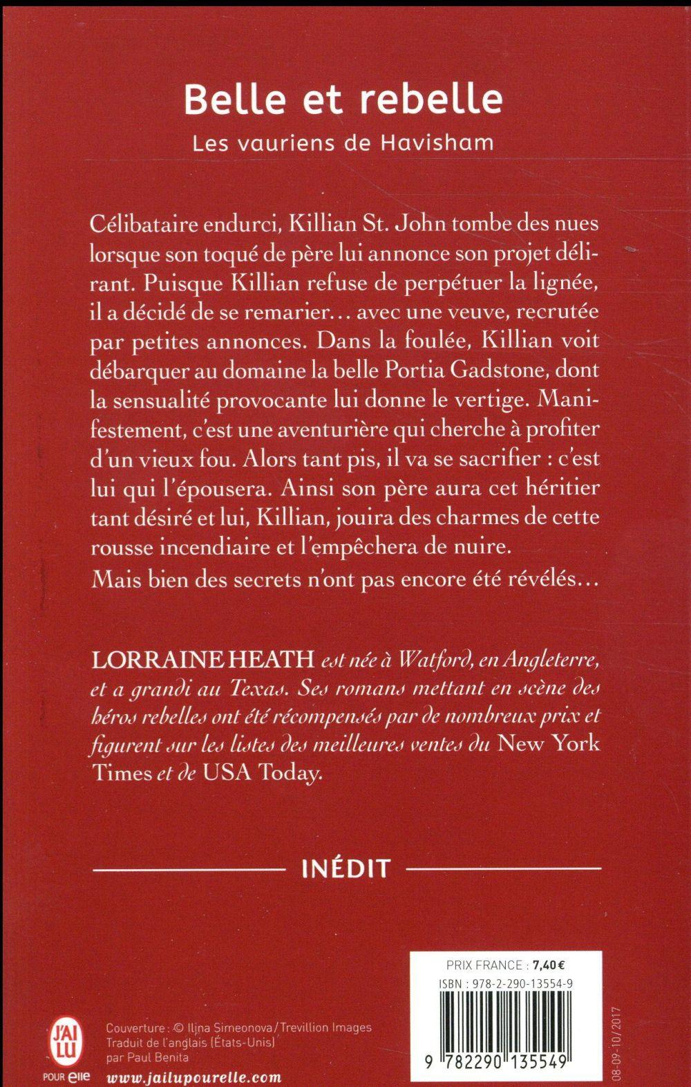 Les vauriens de Havisham T.3 ; belle et rebelle