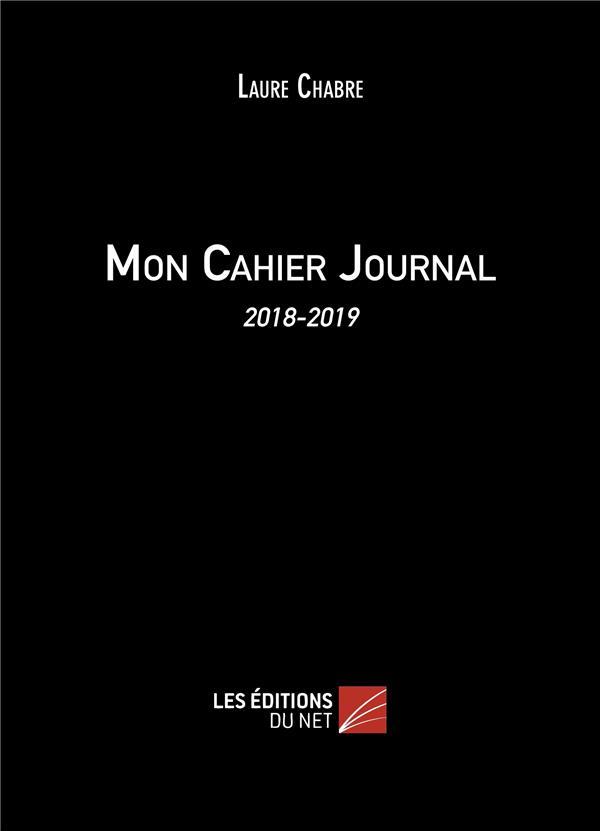 Mon cahier journal (édition 2018/2019)