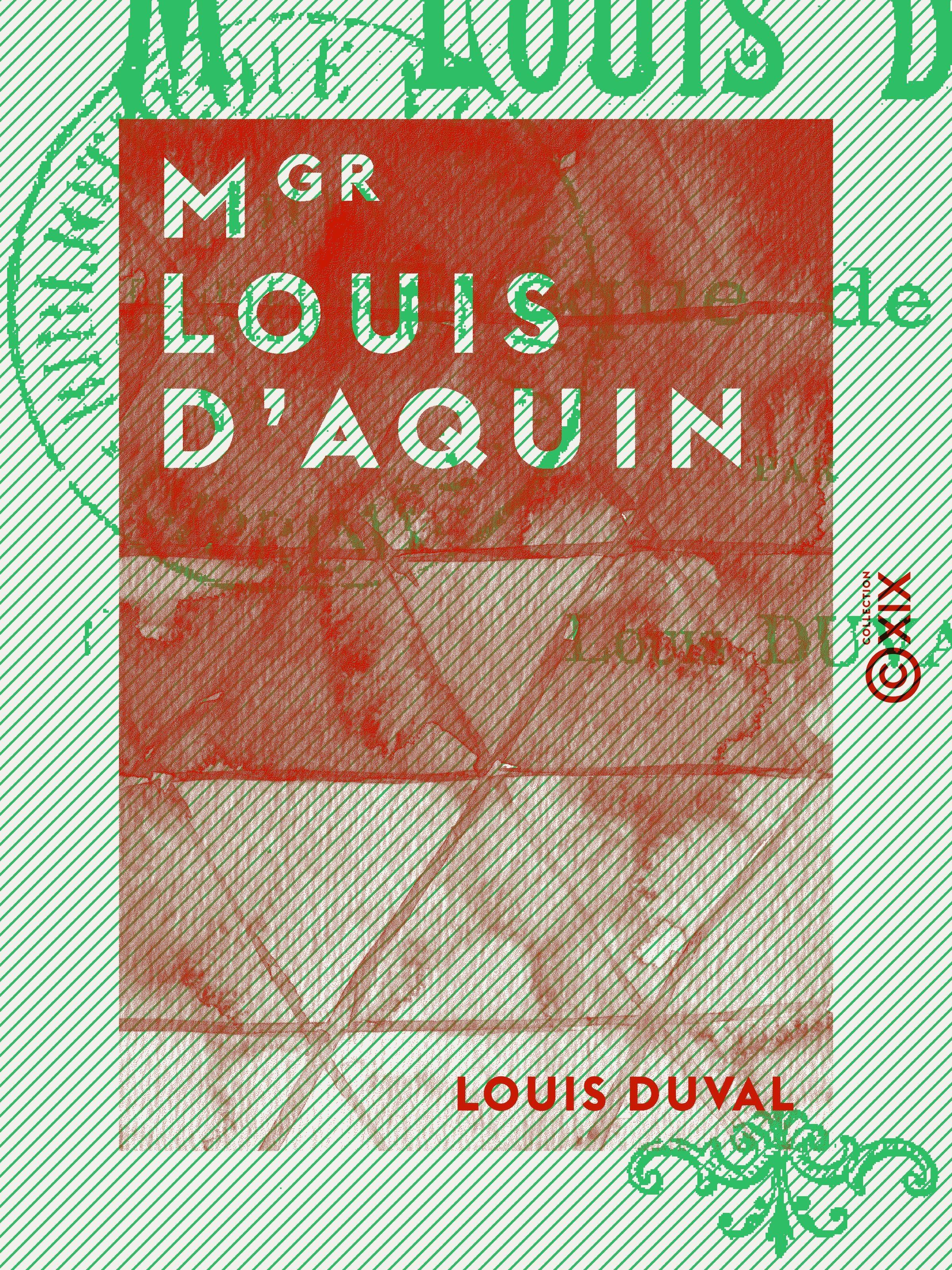 Mgr Louis d'Aquin