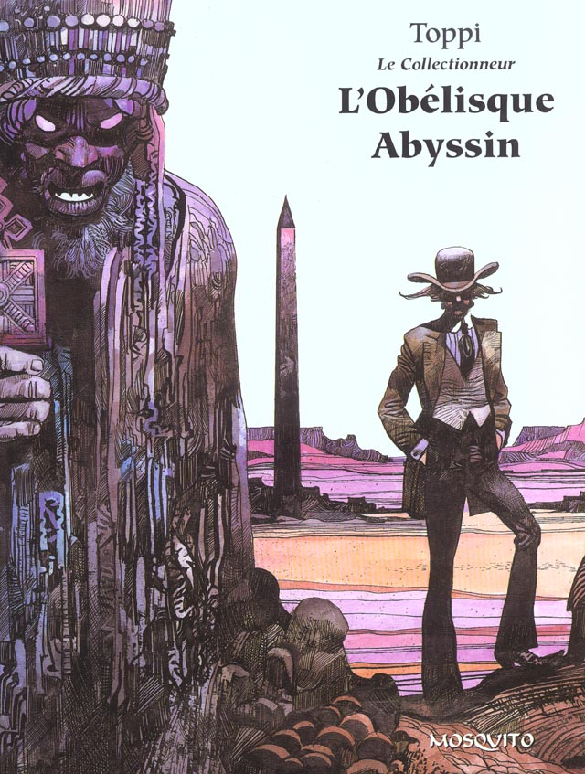 Bande Dessinee T3 L'Obelisque Abyssin