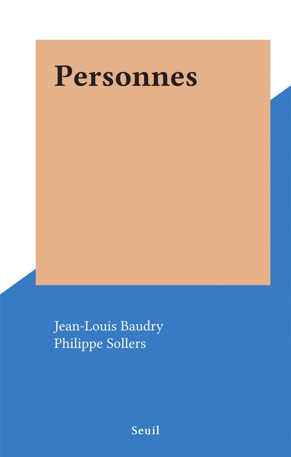 Personnes  - Jean-Louis Baudry