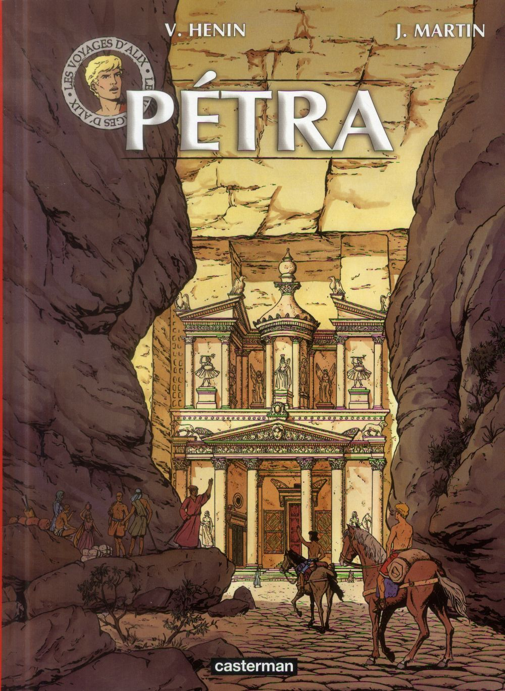 Les voyages d'Alix ; Pétra