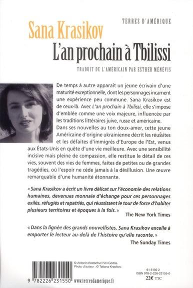 L'an prochain à Tbilissi