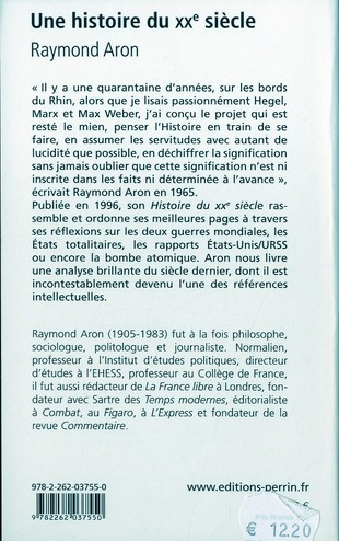une histoire du XX siècle ; anthologie t.1