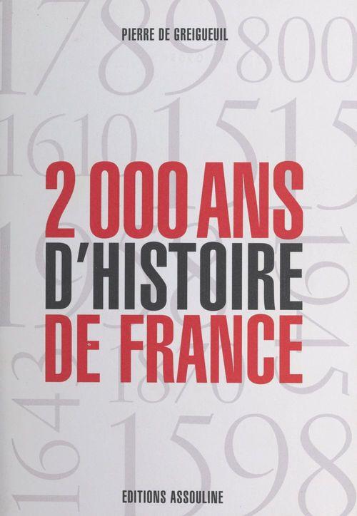 L'histoire au galop, deux mille ans d'histoire de france