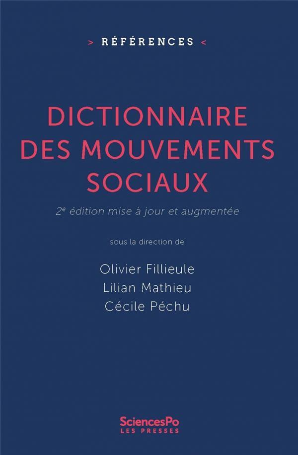 Dictionnaire des mouvements sociaux (2e édition)