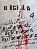 Vente AudioBook : D´ici là n°4   Le palimpseste de la mémoire est indestructible  - Pierre MENARD