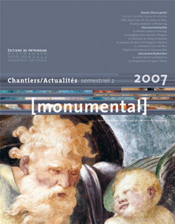 MONUMENTAL n.2007/2 ; dossier décors peints