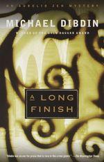 Vente Livre Numérique : A Long Finish  - Michael Dibdin