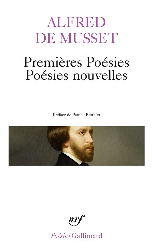 Premières poésies / poésies nouvelles