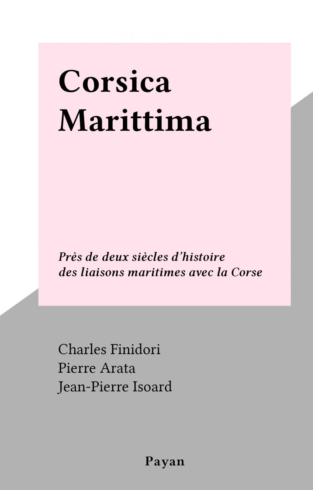 Corsica Marittima  - Charles Finidori