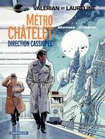 Vente Livre Numérique : Valérian - Tome 9 - Métro Châtelet direction Cassiopée  - Pierre Christin