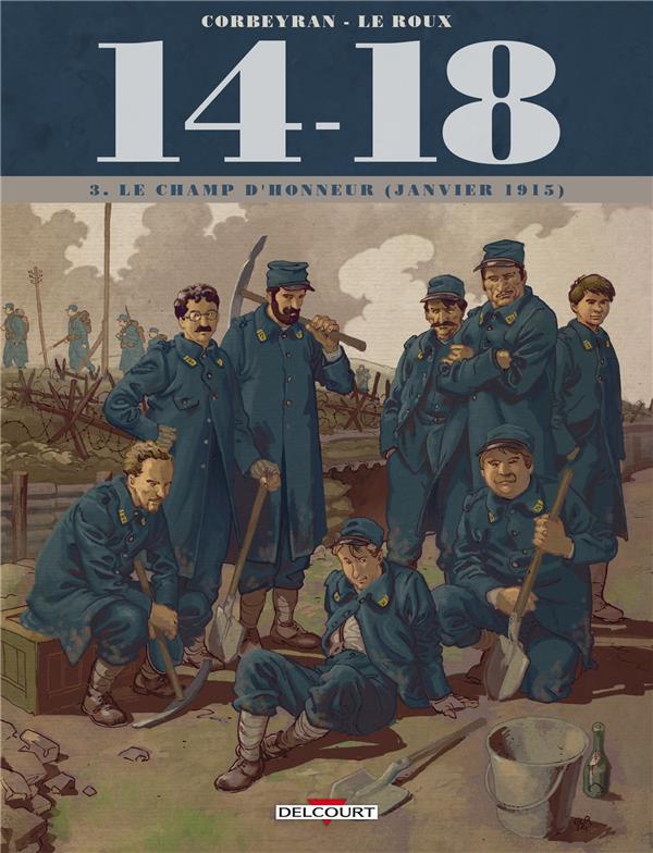14-18 T.3 ; le champ d'honneur (janvier 1915)