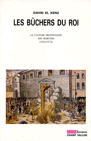 Les bûchers du roi ; la culture protestante des martyrs 1523-1572