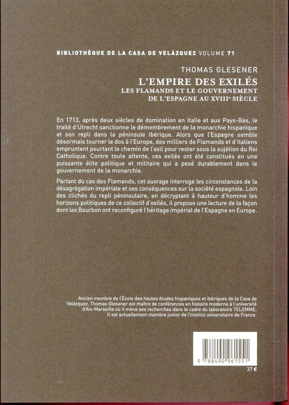 L'empire des exilés