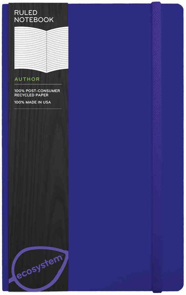 Ecosystem ruled journal: medium (grape)