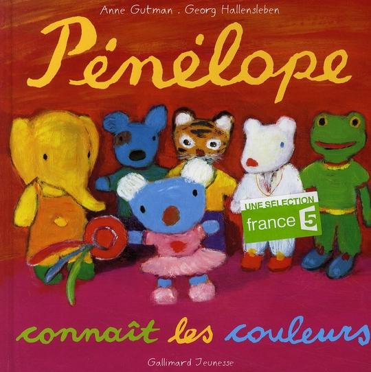 Pénélope connaît les couleurs