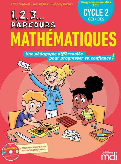 Mathématiques ; CE1, CE2 (édition 2019)