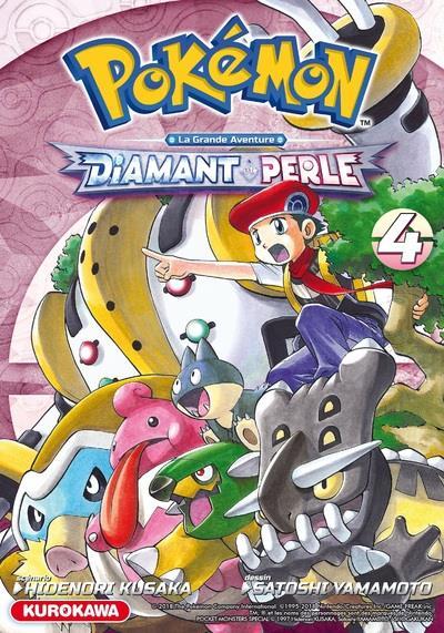 Pokémon ; la grande aventure - Diamant Perle Platine T.4