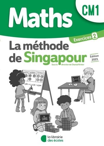 La méthode de Singapour ; maths ; CM1 ; pack de 10 cahiers d'exercices 2