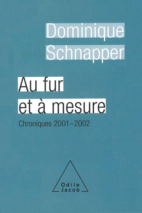 Au fur et a mesure - chroniques 2001-2002
