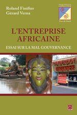 Vente Livre Numérique : L'entreprise Africaine : Essai sur la mal gouvernance  - Finifter - Verna - Paul Schotsmans
