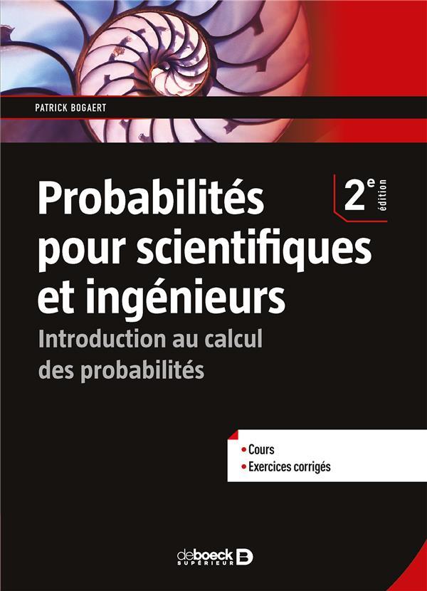 Probabilités pour scientifiques et ingénieurs
