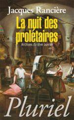 Vente Livre Numérique : La nuit des prolétaires  - Jacques RANCIERE